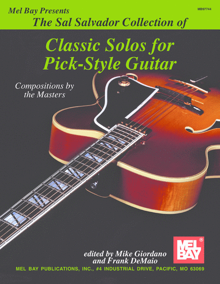 Sal Salvador Collection of Classic Solos for Pick-Style Guitar