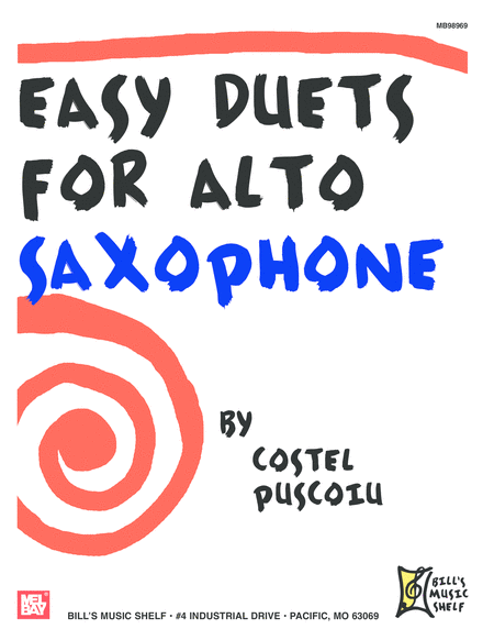 Easy Duets for Alto Saxophone