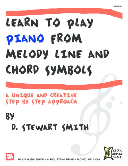Learn to Play Piano from Melody Line and Chord Symbols