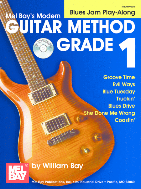 Modern Guitar Method Grade 1: Blues Jam Play-Along