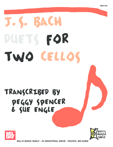 J.S. Bach: Duets for Two Cellos