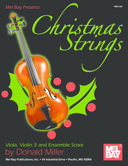 Christmas Strings: Viola, Violin 3 & Ensemble Score