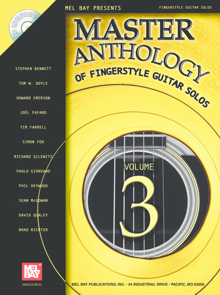 Master Anthology of Fingerstyle Guitar Solos, Volume 3