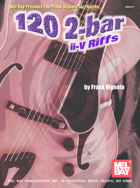 120 2-Bar II-V Riffs