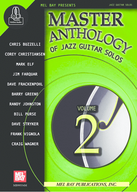 Master Anthology of Jazz Guitar Solos Volume 2
