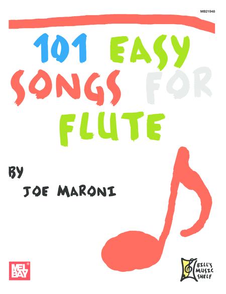101 Easy Songs for Flute