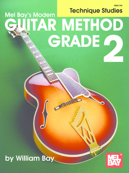 Modern Guitar Method Grade 2, Technique Studies