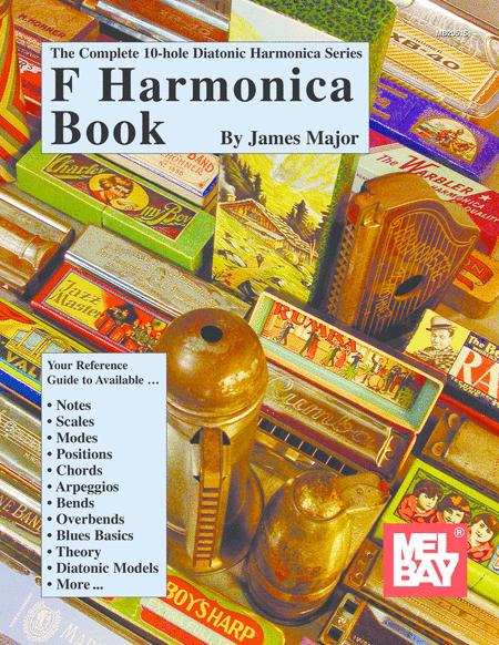 Complete 10-Hole Diatonic Harmonica Series: F