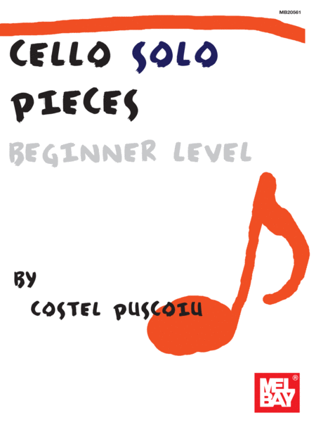 Cello Solo Pieces, Beginner Level