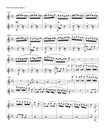 Russian Composers for clarinet duet