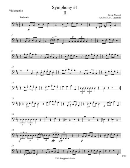Symphony #1 Movement II.