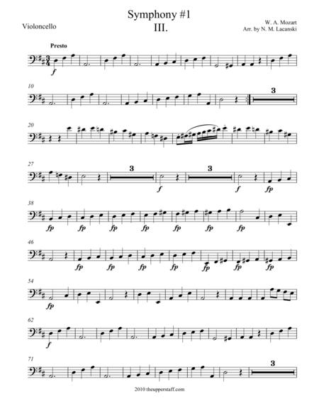 Symphony #1 Movement III.