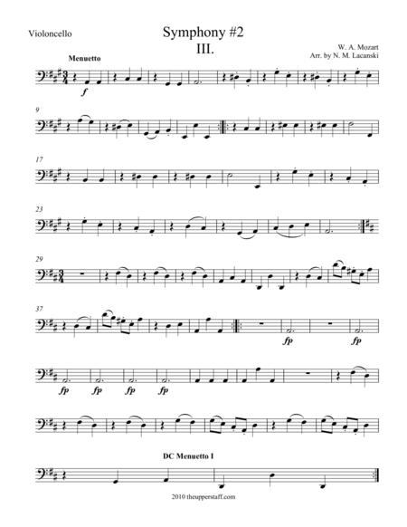 Symphony #2 Movement III.
