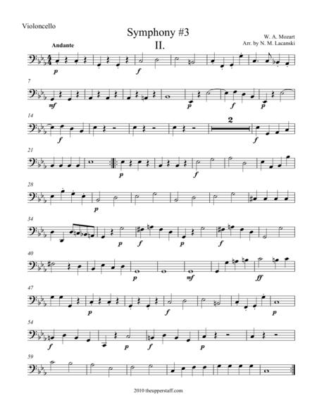Symphony #3 Movement II.