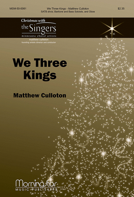 We Three Kings (Choral Score)