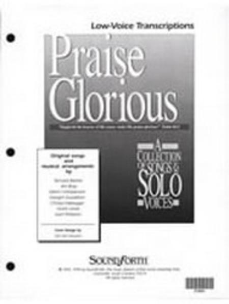 Praise Glorious, Vol. 1 - Low Voice