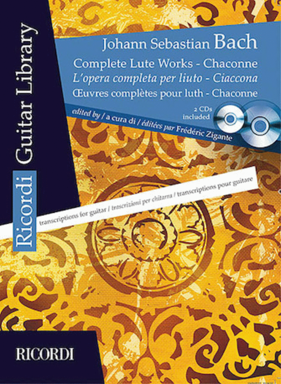 Complete Lute Works - Chaconne