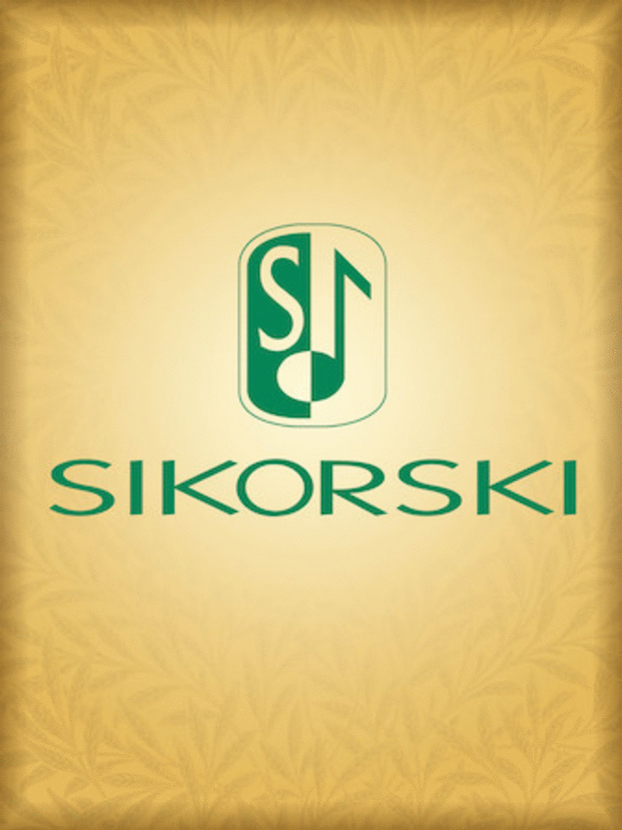 Concerto For Oboe, Strings, And Basson Continuo Oboe Solo Part