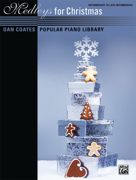 Dan Coates Popular Piano Library -- Medleys for Christmas