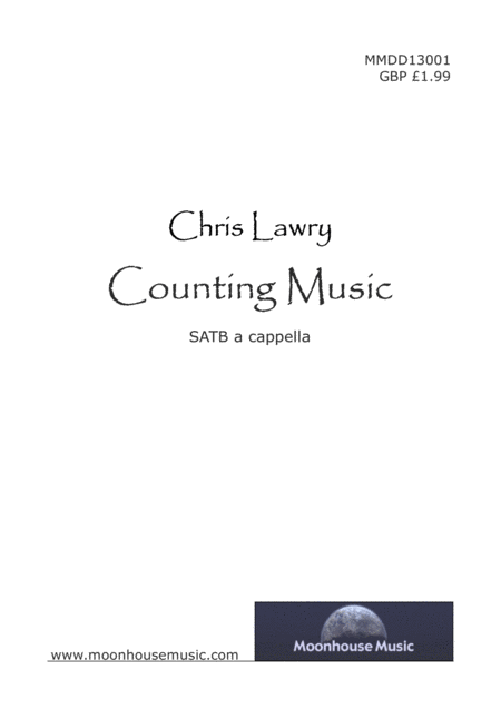 Counting Music (for SATB / choir - a capella)