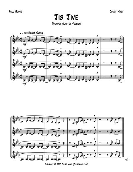 Jib Jive - Jazz Trumpet Quartet