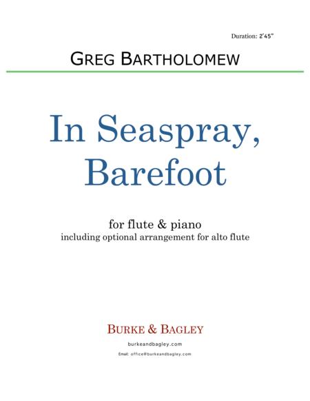 In Seaspray, Barefoot (flute & piano)