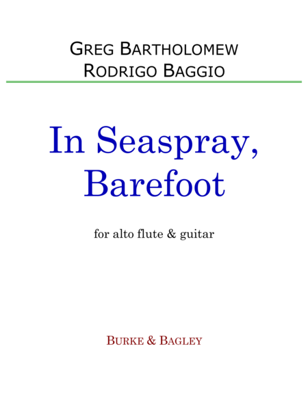 In Seaspray, Barefoot (alto flute & guitar)