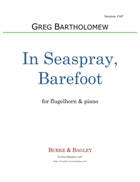 In Seaspray, Barefoot (flugelhorn & piano)