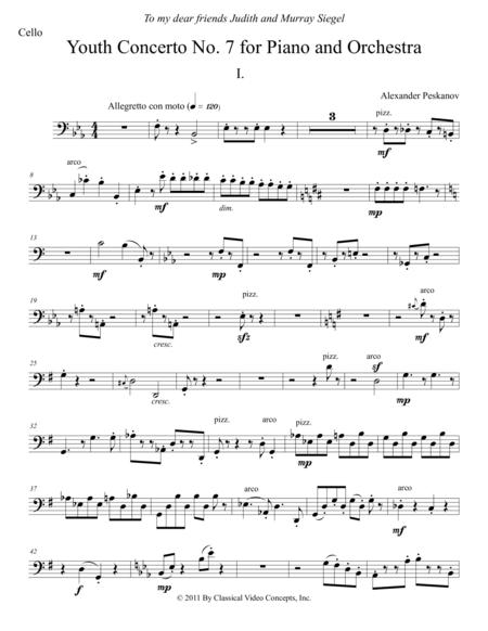 Concerto No. 7 (Anniversary Concerto) - Orchestra Parts