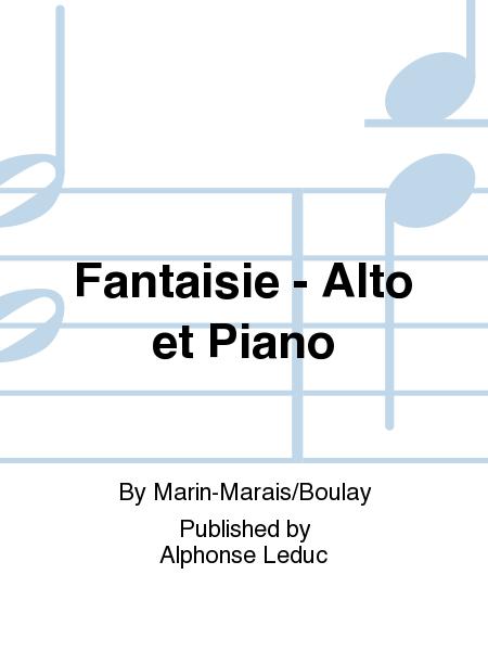 Fantaisie - Alto et Piano
