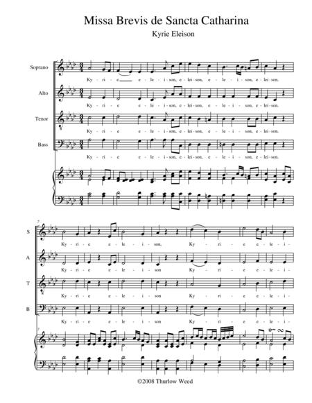 Missa Brevis de Sancta Catharina