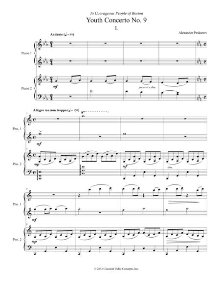 Concerto No. 9 (Boston Concerto) for Piano and Orchestra