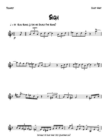 Sigh - Trumpet Solo
