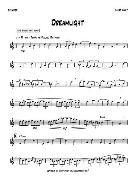 Dreamlight - Trumpet Solo