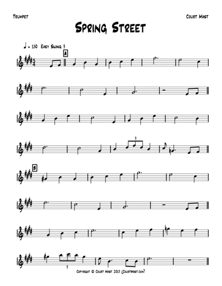 Spring Street - Trumpet Solo
