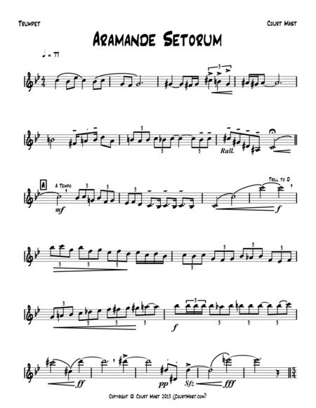 Aramande Setorum - Trumpet Solo
