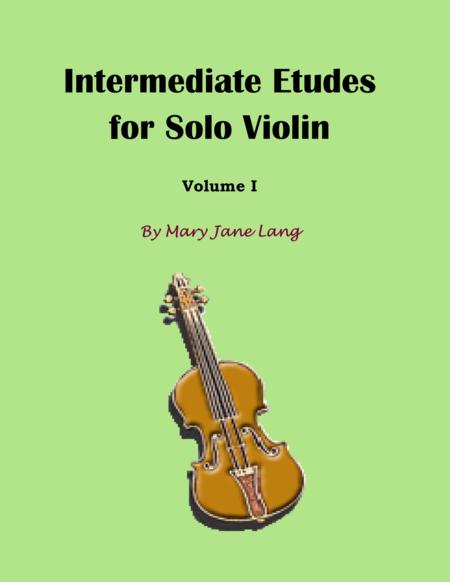 Intermediate Etudes for Solo Violin, Volume I
