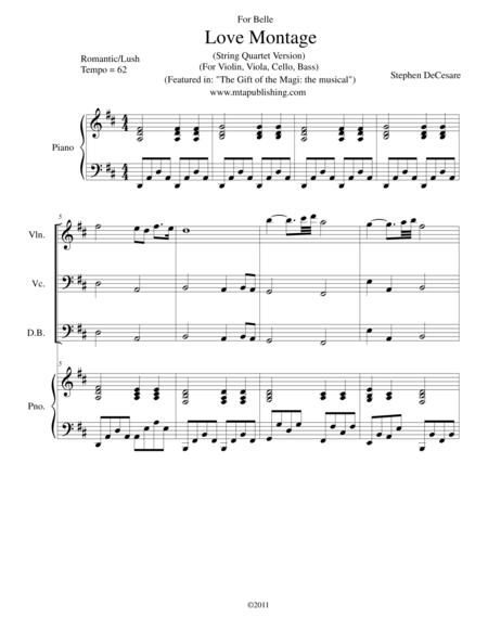 Love Montage (String Quartet Version)