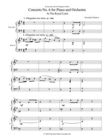 Concerto No. 6 - Orchestra Score