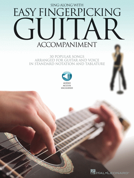 Sing Along with Easy Fingerpicking Guitar Accompaniment