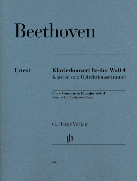 Ludwig van Beethoven -¦Piano Concerto in E-Flat Major WoO 4