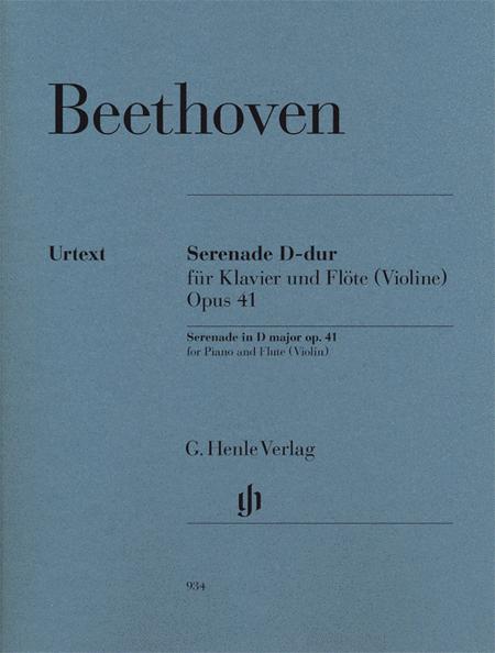 Serenade in D Major  Op. 41
