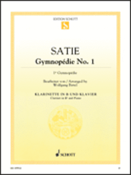 erik satie gymnopedie no 1 piano sheet music pdf