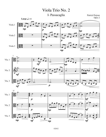 Viola Trio No. 2