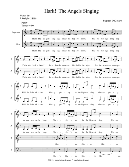 Hark!  The Angels Singing