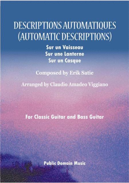 Automatic Descriptions (Descriptions Automatiques)