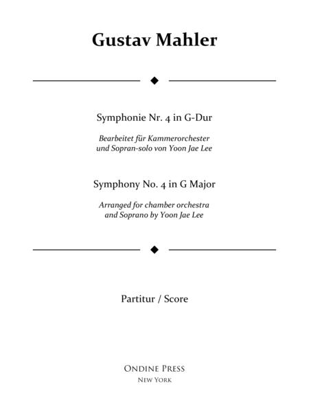 Mahler (arr. Lee): Symphony No. 4 in G Major 3rd movement, Full Score