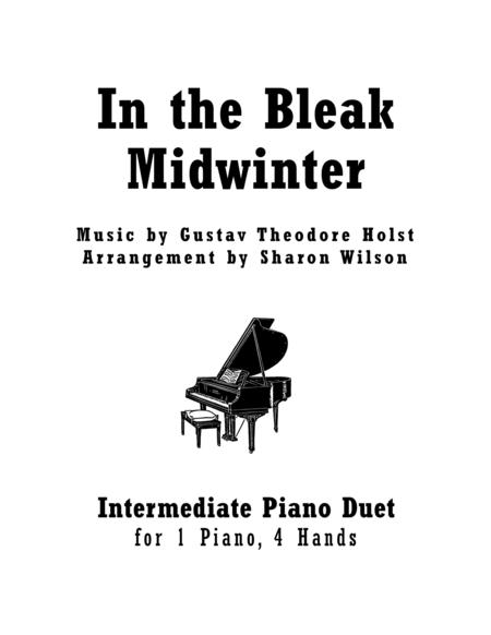 In the Bleak Midwinter (1 Piano, 4 Hands)