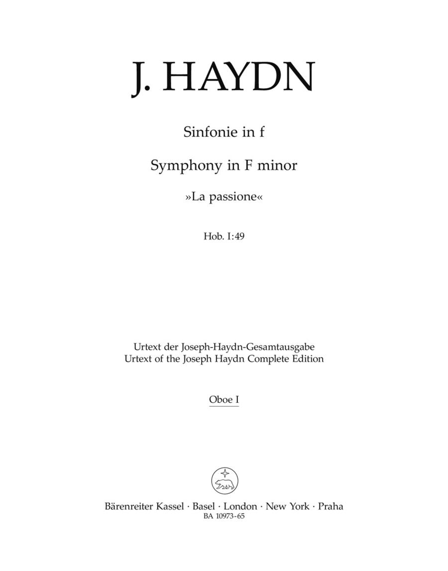 Symphony F minor Hob. I:49