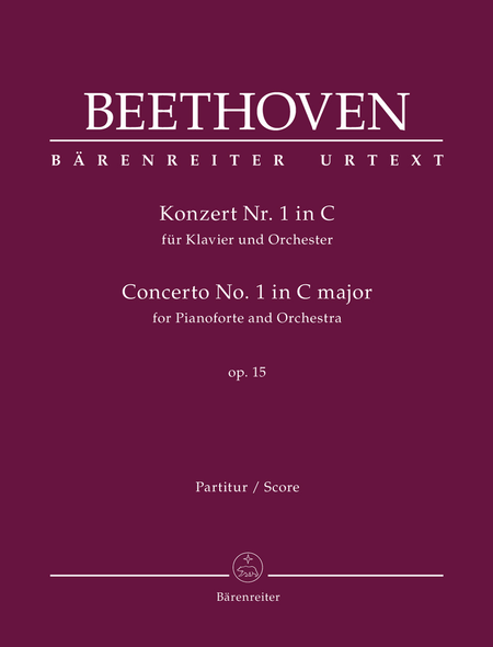 Concerto for Pianoforte and Orchestra Nr. 1 C major op. 15